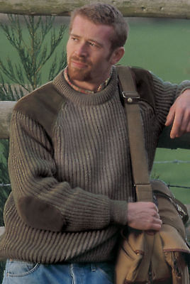 100% BRITISH WOOL Quality Country Shooting Jumper Warm Comfortable Traditional
