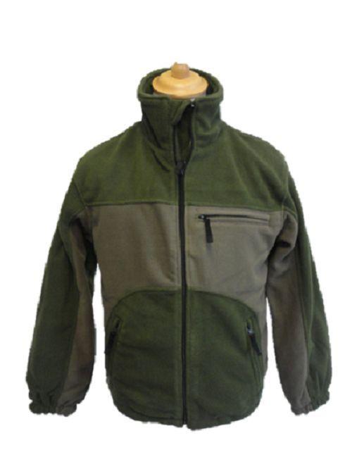 Shellbrook Waterproof Fleece Jacket Coat 2 Tone Green Warm Lined New