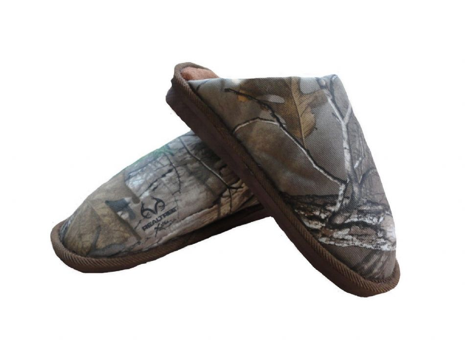 Men S Slippers Camo Realtree Mule Camouflage Comfy Warm