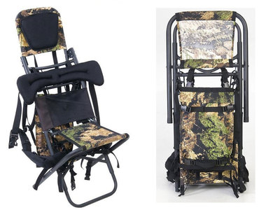 Rack Pack Convertible Backpack Chair Hunting Frame