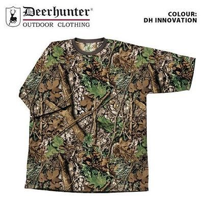 Childrens Kids Youths Boys Deerhunter Camo T-shirt Short Sleeve Shooting Fishing