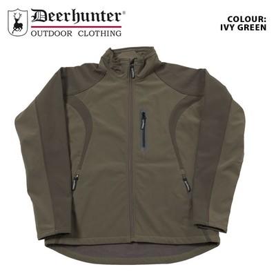 1c7220048e342 Deerhunter Waterproof Shooting Jacket Yorkton Softshell New Hunting RRP 99