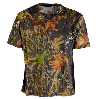 Mossy Oak Camo T-shirt Short Sleeve Pigeon Shooting Decoying Hunting Fishing New