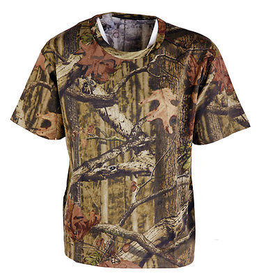 Mossy Oak Infinity Camo T-shirt Short Sleeve Pigeon Shooting Decoying Fishing
