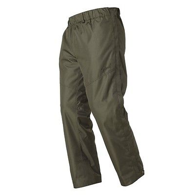 Over Trousers Ripstop Waterproof For Shooting Beating Hunting Full Leg Zip Lined
