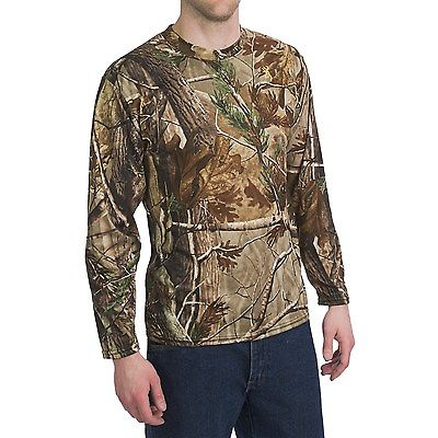 Realtree AP Camo T-shirt Long Sleeve BROWNING Pigeon Shooting Decoying Hunting