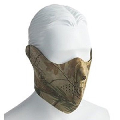 Realtree AP Neoprene Mask Facemask Face Cover Pigeon Shooting Decoying New
