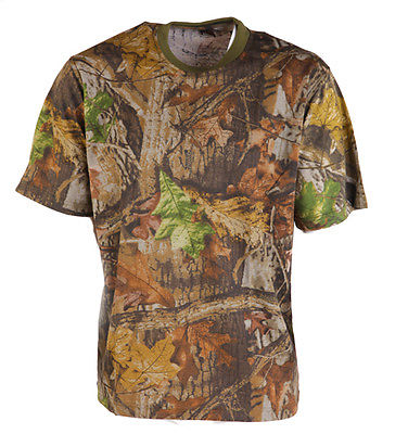 Realtree Camo T-shirt Short Sleeve Pigeon Shooting Decoying Hunting Fishing New