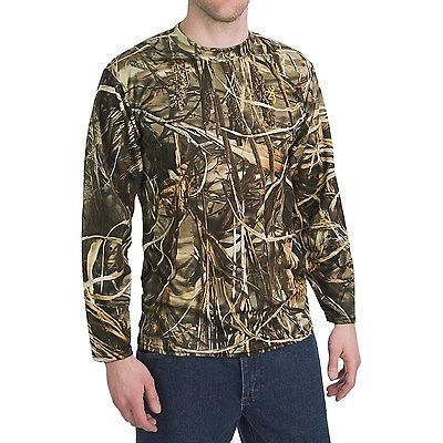 Realtree MAX4 Camo T-shirt Long Sleeve BROWNING Pigeon Shooting Decoying Hunting